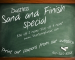 Blackboard Sand and Finish online ad