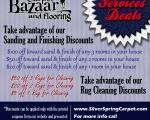 Flooring and rug-cleaning  online deals ad