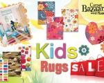 Kids rugs sale ad