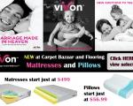 Vivon Mattrasses and pillows ad