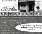 Takoma Park Survaval Guide B/W Ad