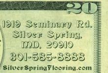 $20 coupon on sanding and finishing of hardwood flooring