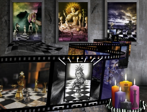 "Montgomery College Graphic Design Project ""Chess Film"""