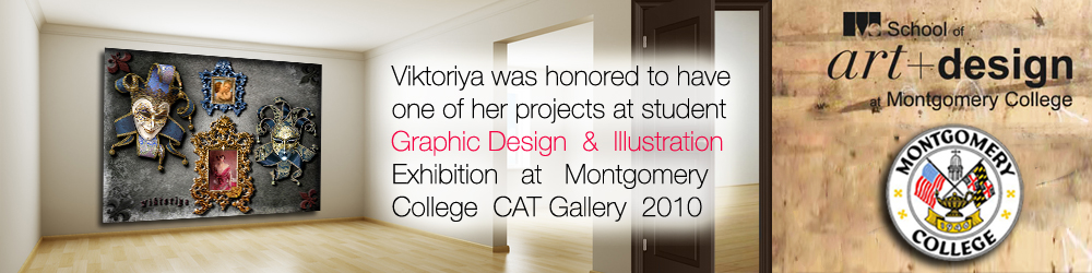 Viktoriya at Montgomery College CAT Gallery